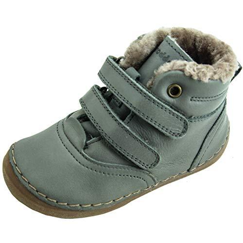 Froddo Unisex Baby G2110078 Stiefel, Grey, 25 EU