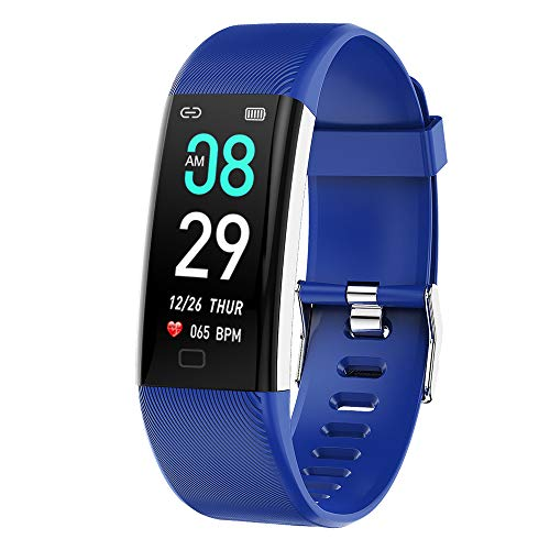 N \ A Smart Watch, Activity Tracker with 0.98 Inch Touch Screen, Ip68 Waterproof Pedometer, Smart Watch With Sleep Monitor, Suitable for Android and Ios Phones