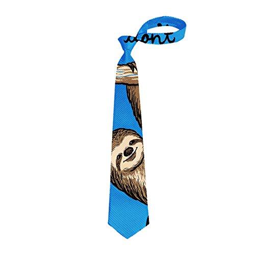Lazy Sloth Necktie