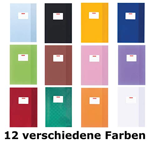 Herlitz, copertine per quaderni, 12er Packung | A4, assortiti, 1