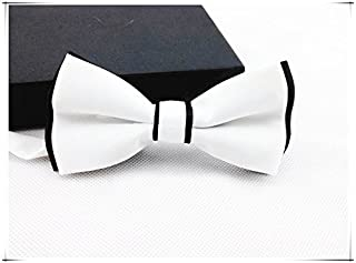 Asian Cookie - Handmade Dog/cat Bow Tie for Medium & Large Pets (Free Attached Soft Fabric Collar) Double Layer Butterfly Design