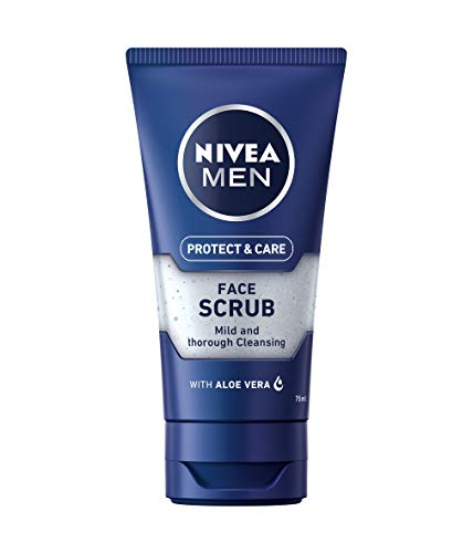 Nivea men - Exfoliante facial, pack de 3 (3x 75 ml)