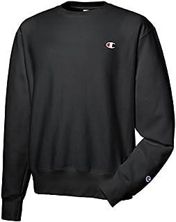 قميص رياضي رجالي منسوج عكسي من Champion Life، أسود، مقاس XXX-L