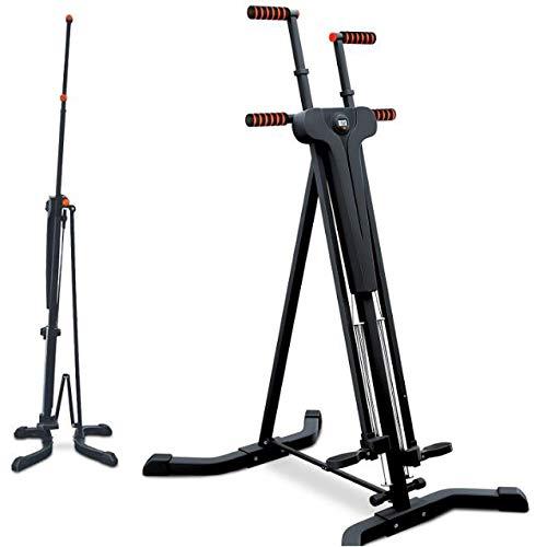 Innovador Stepper 2 En 1 Y Escalador Vertical. Fitness - Escalada - Movimientos De Escalada, Diseño Antideslizante Plegable Y Multifuncional - Ideal Para Entrenamiento A Intervalos De Alta Intensidad