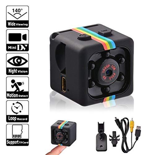 Ballylelly SQ11 Mini Micro HD Cámara Dados Video Visión Nocturna HD 1080P 960P Videocámara Sensor de Movimiento Cámara Monitores WiFi Remoto