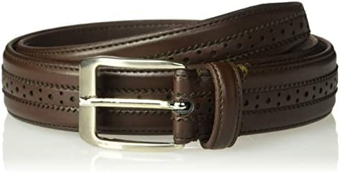 Florsheim Men s Boselli 33MM Dress Casual Leather Belt brown 38 product image