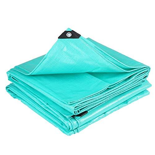 Zhuan - Toldo impermeable para exteriores, 20 tamaños, personalización (color: verde, tamaño: 4 x 8 m)