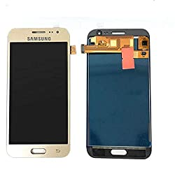 LCD Display and Touch Screen Digitizer for Samsung Galaxy J2 2015 (Gold)