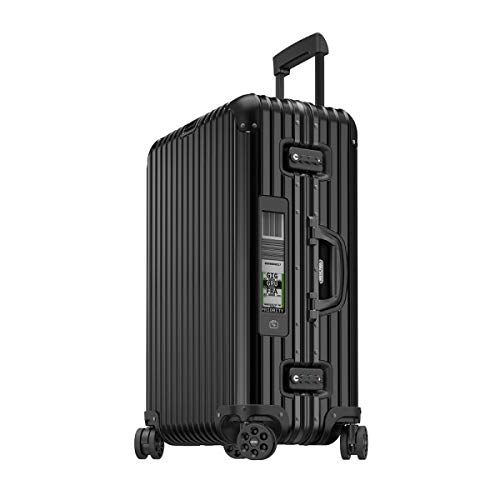 RIMOWA Topas Stealth Alu Premium Collection - Maleta (67 L), color negro