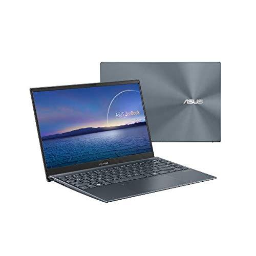 ASUS ZenBook 14 UM425IA-AM037R FHD AMD Ryzen 7 4700U 16 GB 512 GB SSD Wi-Fi 6 (802.11ax) Numberpad Windows 10 Pro Grigio