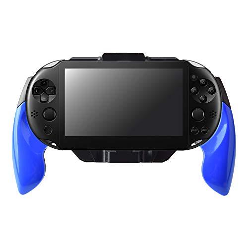 Gam3Gear Plastic Hand Grip Handle Holder Case Bracket for PS Vita 2000 Blue