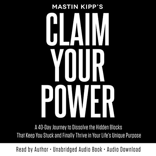 Claim Your Power audiobook cover art