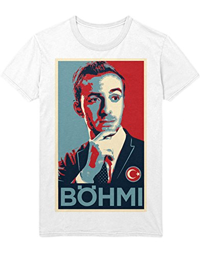 T-Shirt #FREEBOEHMI BÖHMI D232302 Weiß XL