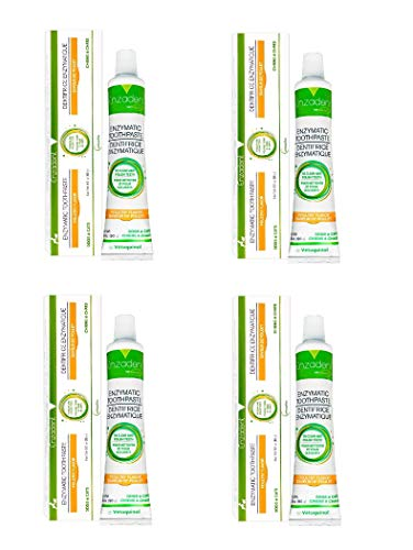 Vetoquinol Enzadent Enzymatic Toothpaste for Cats & Dogs – 3.2 oz, (4 Pack)