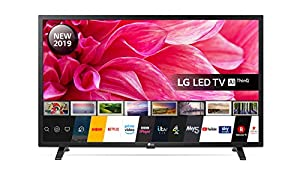 LG Electronics 32LM630BPLA.AEK 32-Inch HD Ready Smart LED TV with Freeview Play - Ceramic Black colour (2019 Model) by LG
