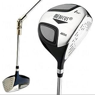 Medicus Training Golf Clubs-Dual Hinged 460cc Driver Loft 10.5 Men's Right Hand-w/Bonus: DVDs & Dual-Handle Putter Trainer