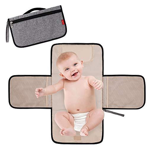 Cambiador Portátil de Pañales para Bebé Impermeable Plegable Cambio de pañales de...