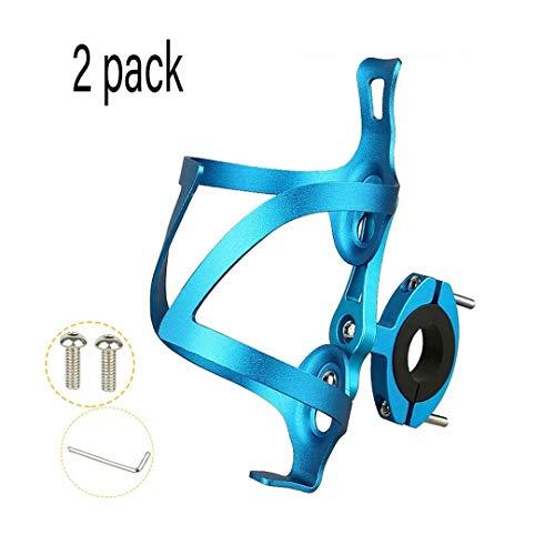 Porte Bidon De Vélo Montage Facile Léger Et Pratique,avec Outils Inclus Porte-gobelet Léger Ultra Léger Et Durable Aluminium Matériel pour VTT Et Vélos De Route (Color : Bleu)
