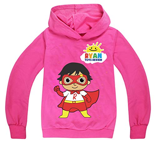 Steven Crain R-y-a-ns- Review Toy Egg Girls Funny Hoodies schwarz - - 120 cm