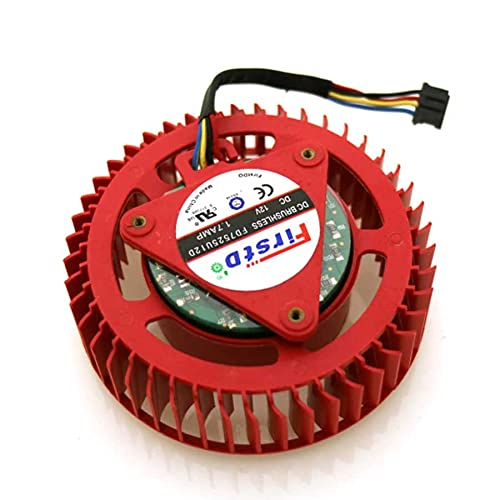 FD7525U12D 1.70A 12V For ATI HD6970 HD7970 Graphics Card Cooler Cooling Fan 4Pin 4Wire