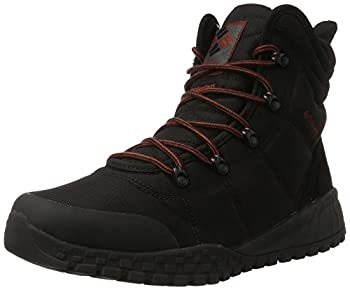 Columbia Men s Fairbanks Omni-Heat Snow Boot Black Rusty 10.5