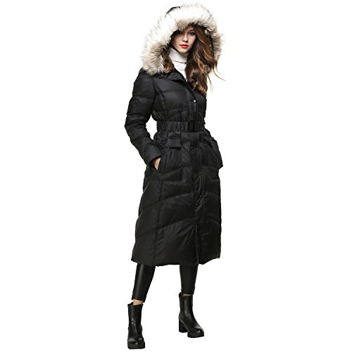 (40% OFF Coupon) Long Down Jacket W/ Hood $83.40