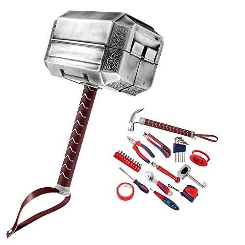 Thor Hammer-Werkzeugset, Multitool-Set für Ihre täglichen Reparaturen