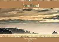 Nordland - Die Weite Skandinaviens (Wandkalender 2022 DIN A2 quer): Die pure Natur der skandinavischen Landschaft im Bild miterleben, das zeigt dieser Kalender. (Monatskalender, 14 Seiten )