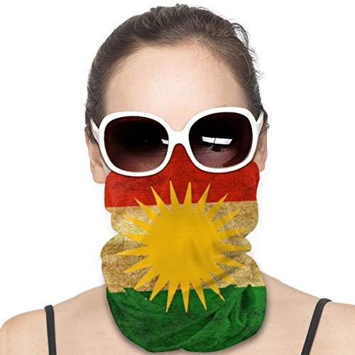 NA Variety Kopftuch Halswärmer Bandanas Outdoor-Kopfbedeckung Schal Halstuch Bandanas für Männer und Frauen Bandana Kurd Kurd Kurd Kurd Kurd Kurdische Flagge Poster
