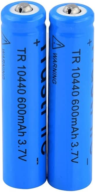 Rechargeable Batteries 3.7V 10440 600Mah Li All items free shipping Ion Lithium Batterie Jacksonville Mall