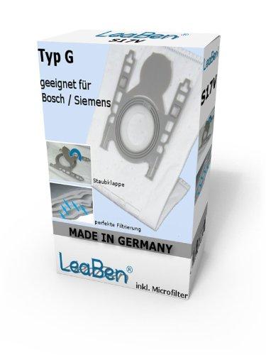 20 Staubsaugerbeutel geeignet für Siemens Q5.0, VSQ5X1230, VSZ3XTRM11, VSZ324XXL, Extreme Power Made in Germany #S17GR