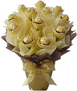 Fall Ferrero Rocher Chocolate Candy Bouquet