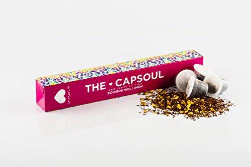 The Capsoul CÁPSULAS INFUSIÓN rooibos, miel & limón 6 x 10 cápsulas comp 60 g