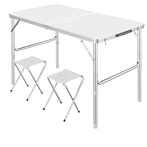 Mesa plegable de aleación de aluminio de 90 x 60 x 70...