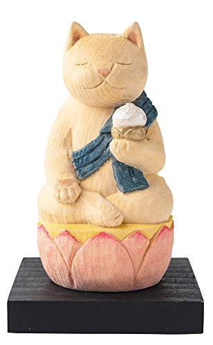 猫buddha 虚空蔵菩薩(丑・寅年の守護本尊) 仏屋さかい原型監修_十二支守り本尊 イSム 仏像ワールド(NB8こくうぞう