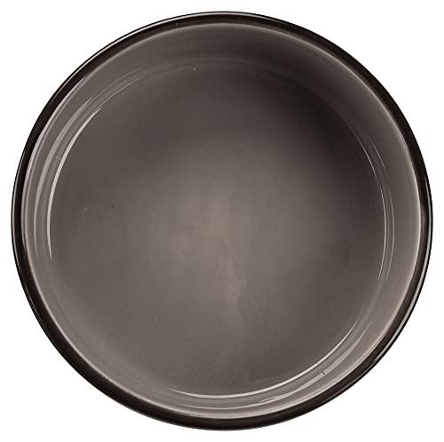 Trixie 24533 Napf mit Pfoten, Keramik 1,4 Liter/ø 20 cm, braun / creme - 2