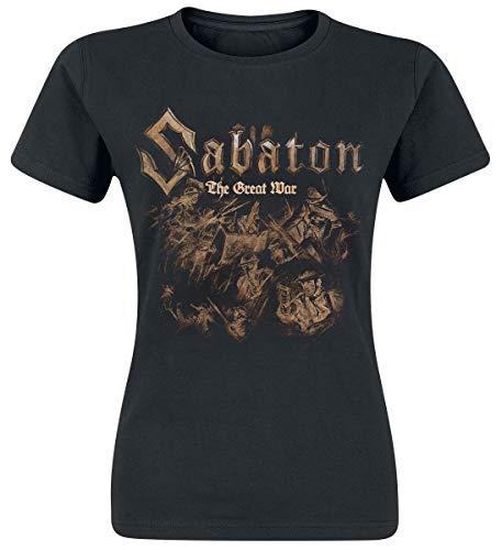 Sabaton The Great War - Soldiers Frauen T-Shirt schwarz XL