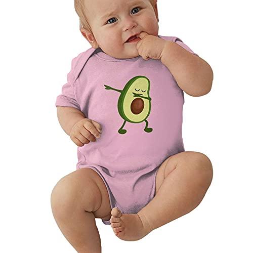 Dabbing Avocado Baby Boys Pijama Unisex Romper Baby Girls Body Infant Kawaii Jumpsuit Outfit 0-2t Niños,Rosa,2 años