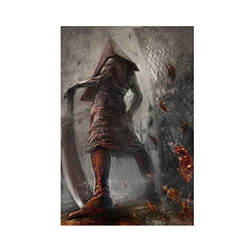 Game Silent Hill 39 - Póster de lienzo para pared (30 x 45 cm)