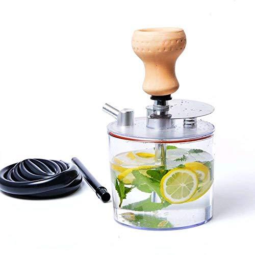 N/V Juego De Cachimba Shisha, Juego Completo De Cachimba Juego Combinado Portátil De Cachimba Narghile Smoke Starter
