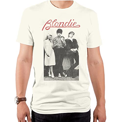 Official Men's Blondie Wallflowers T-shirt, S to XXL
