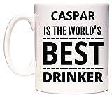 CASPAR Is The World's BEST Drinker Taza por WeDoMugs