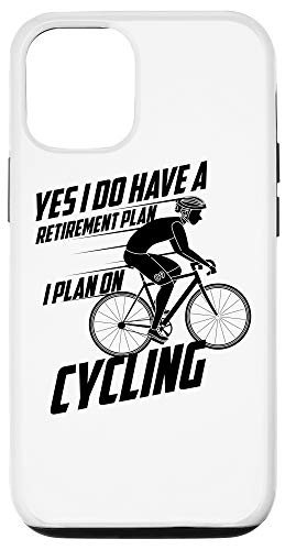 iPhone 12/12 Pro I Do Have A Retirement Plan Cycling | Biker Funny Gift Case