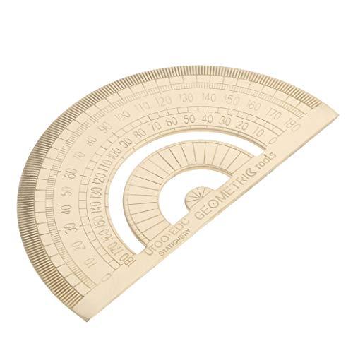 180 Grad Winkelmesser Winkel-Messlineal Dreieck Messwinkel Lineal - Typ B