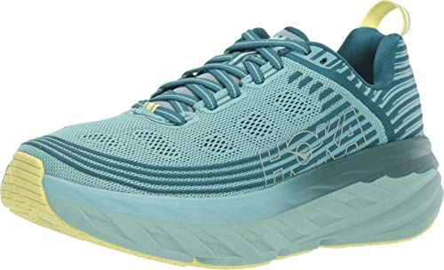 Hoka One One Bondi 6 Running Shoes Women Dragonfly/Aqua Haze Schuhgröße US 6,5 | EU 38 2019 Laufsport Schuhe