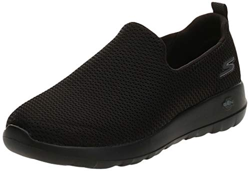 Skechers mens Go Walk Max-Athletic Air Mesh Slip on Walking Shoe,Black,12 M US
