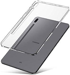 Compatible for Galaxy Tab S6 10.5 Case, Slim Cushion Lightweight Bumper Transparent Shock Resistant Slim Clear Soft TPU Ru...