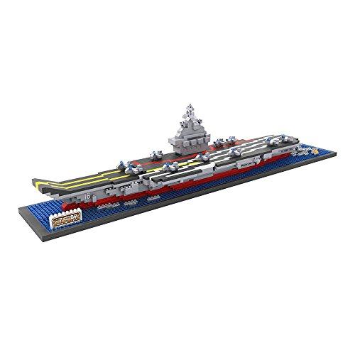 LoZ 9390 - Kit de construcción minimizada. Diamond Block. Portaaviones. 1300 piezas.