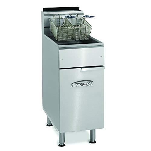 Imperial IFS-40 Gas Fryer - (1) 40-lb Vat, Floor Model, NG