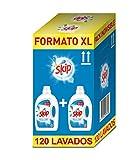 Skip Active Clean Detergente Líquido para Lavadora - Paquete de 2 x 60 lavados...